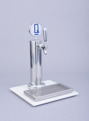 "Q water 16"" single faucet"