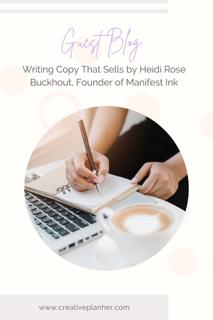 5 Tips for Copy Writing to Sell Your Product or Service to Your Ideal Audience