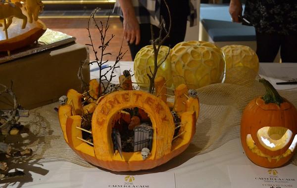Cemetary pumpkin