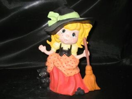 Friendly little witch