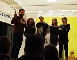 2019-01-19 Poetry Slam im DARINGER Kunst