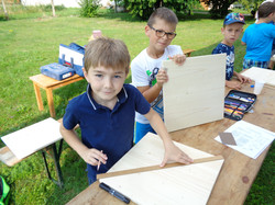 Ferienprogramm Sonnenuhrenbau (2)