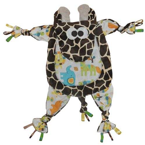 Brown Giraffe with White Tummy (Giraffe 6)