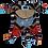 Thumbnail: Brown Chevron Monkey with Monkey Tummy (Monkey 19)