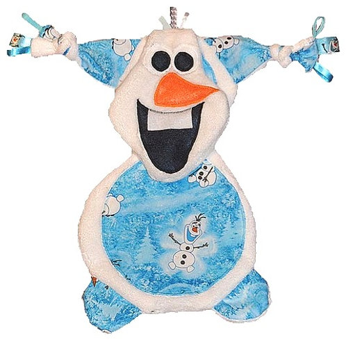 White Snowman with Blue Tummy (Snowman 2)