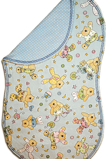 Blue Teddy Bear Spittie (B47)