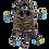 Thumbnail: Tan Cheetah with Safari Tummy (Kitty 12)