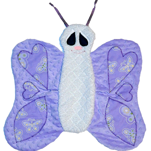 Purply and White Butterfly (Butterfly 1)