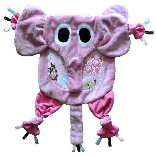 Lavender Elephant with Paisley Tummy (Elephant 3)