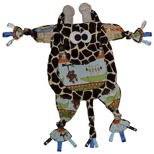 Brown Giraffe with Jungle Tummy (Giraffe 1)