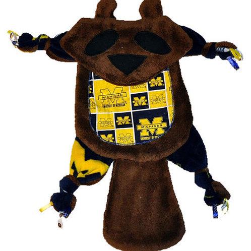 Brown Michigan Wolverine