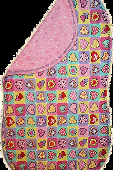 Checkered Heart Spittie (G39)