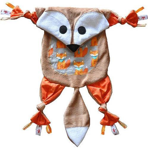 Orange Fox with Gray Tummy (Fox 3)