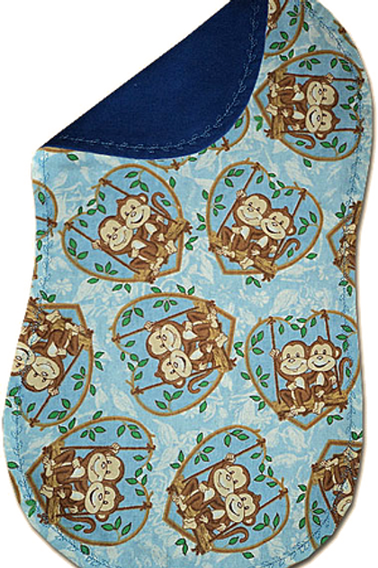 Blue Swinging Monkey Spittie (B5)