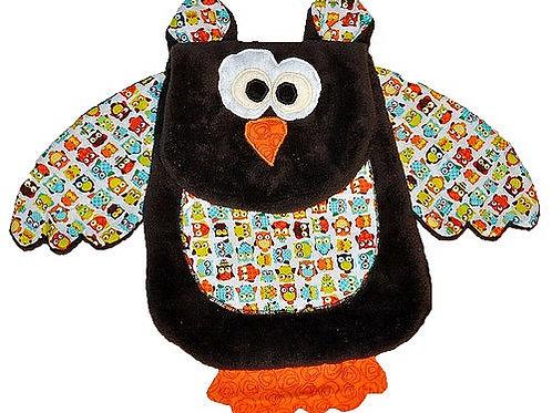 Brown Owl with White Tummy (Owl 5)