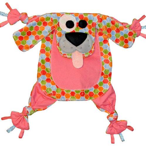 Hexagon Puppy with Pink Tummy (Puppy 7)