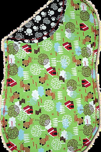 Green Doggy House Spittie (B68)