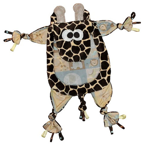 Brown Giraffe with Safari Tummy (Giraffe 2)