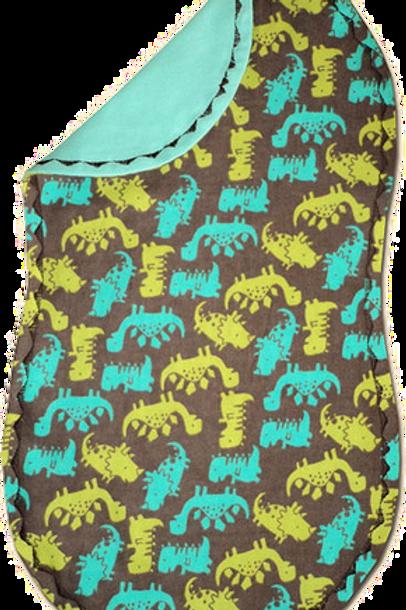 Brown Dino Spittie (B37)