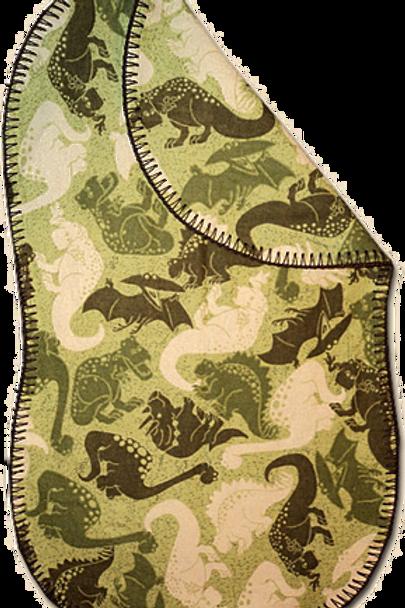 Green Camo Dino Spittie (B9)