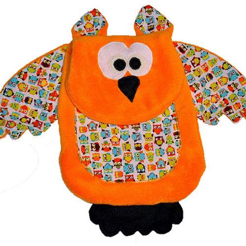 Orange Owl with White Tummy (Owl 10)