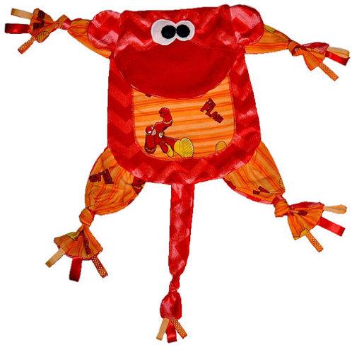 Red Monkey with The Flash Tummy (Monkey 5)