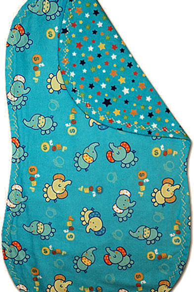 Teal Elephant Spittie (B26)