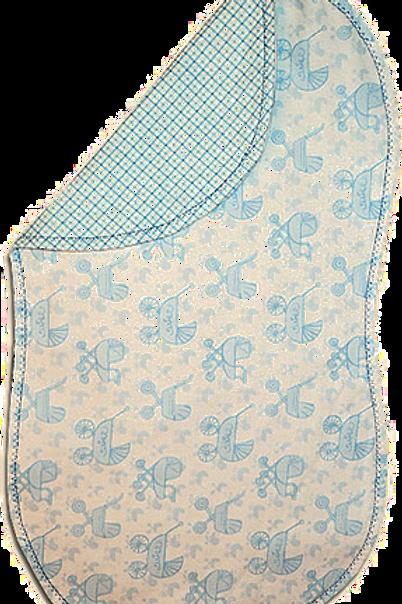 Blue Baby Carriage Spittie (B44)