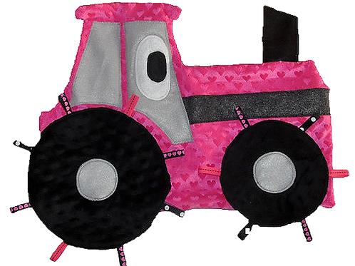 Pink Heart Tractor (Tractor 2)