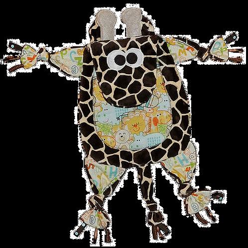 Brown Giraffe with Happy Critter Tummy (Giraffe 8)