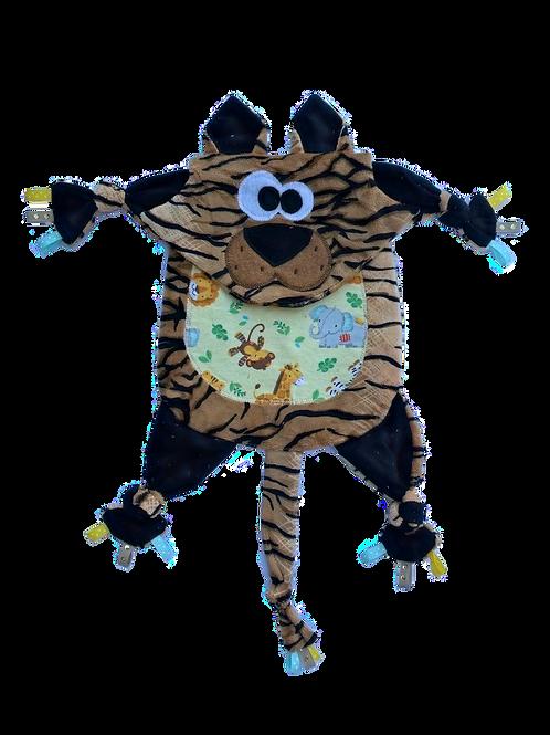 Tan Cheetah with Safari Tummy (Kitty 12)