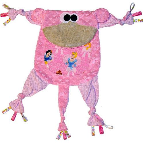 Pink Monkey with Princess Tummy (Monkey 4)