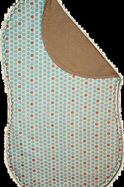 Blue Polka Dot Spittie (B30)