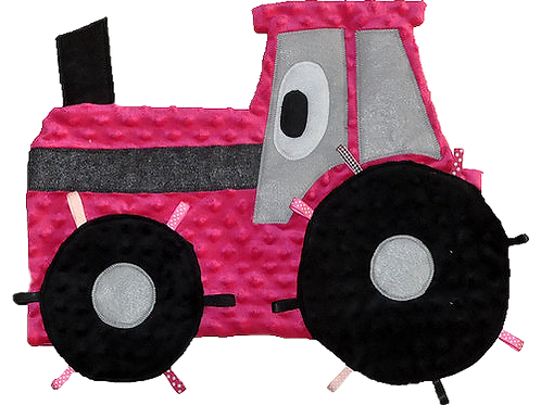 Pink Polka Dot Tractor (Tractor 1)