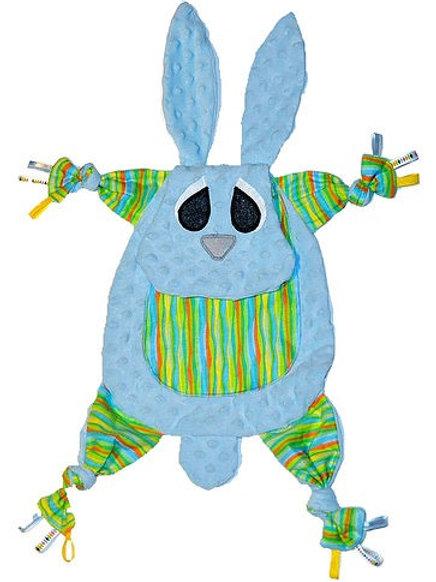 Baby Blue Tummy with Striped Tummy (Bunny 1)