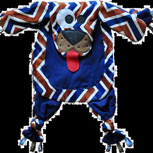 Chevron Puppy with Dark Blue Tummy (Puppy 14)