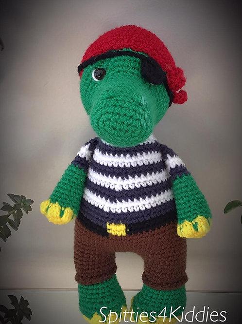 Alligator Pirate