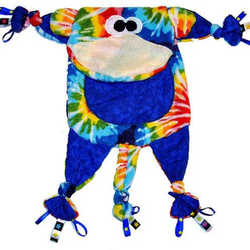 Blue Monkey with Tye Dye (Monkey 12)