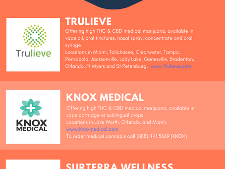 Top 10 Florida Medical Marijuana Dispensary Locations & Products