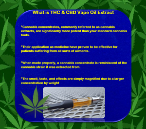 THC and CBD Extracts - Florida Vape Oil