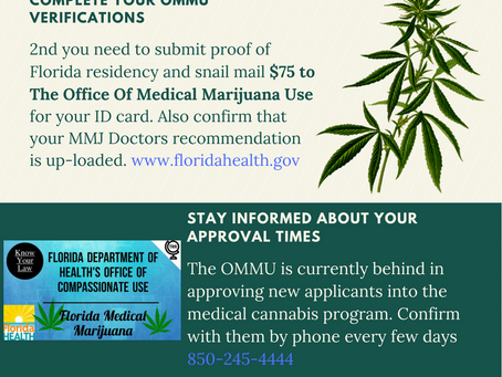 5 Steps to access Medical Marijuana in Florida
