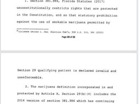 Smoking Marijuana Is Now Legal Judge Rules