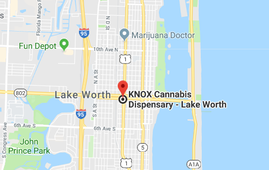 Curaleaf marijuana dispensary google maps location - 1125 north dixie hwy