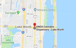Curaleaf marijuana dispensary google maps location - 1125 north dixie hwy