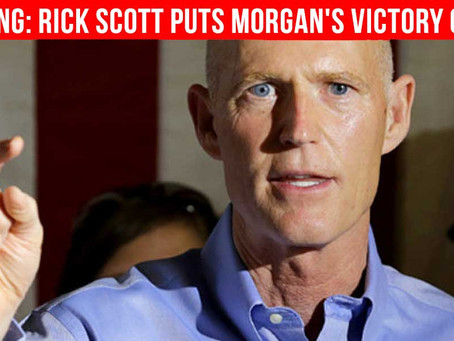 Rick Scott Puts Morgan's Victory For Smokable Marijuana on Hold With Appeal