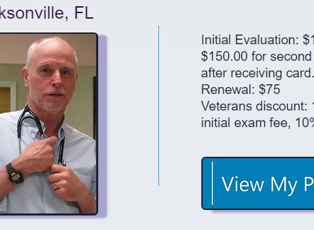 Jacksonville FL Medical Marijuana Doctors | Medical Marijuana Cards
