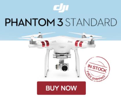 DJI Phantom 3 Camera Drone | Camera Drones for Sale