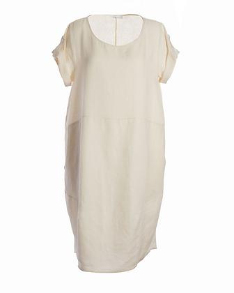 Kerrie's Linen Dress - Cream