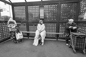 Bus stop wait