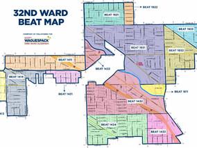 32nd Ward Beat Map